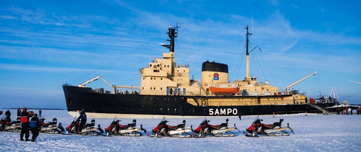 Eisbrecher Sampo in Kemi