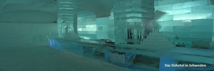 Weihnachten in Skandinavien - das Eishotel
