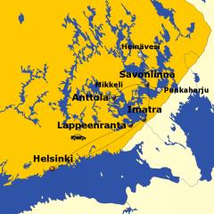 Rundreise Saimaa Seengebiet Finnland