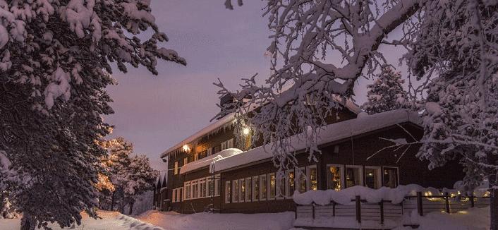 Winterwoche im Hotel Kultahovi Inari