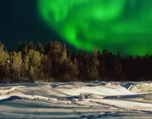 Nordlichter über Lappland
