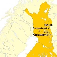Karte Salla
