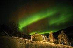 Silvester nördlich des Polarkreis Utsjoki feiern