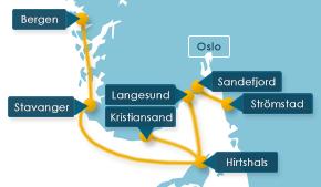 Fähren nach Norwegen, Dänemark und Schweden
