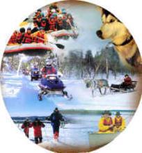Wintererlebniswoche Hundeschlitten Harriniva