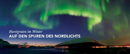 Magie des Nordlicht ab bis Bergen mit den Hurtigruten