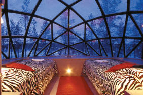 Glas Iglu Artic Resort Kakslauttanen