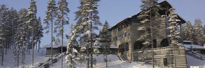 Hotel Kalevala-Finnland