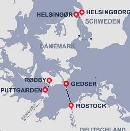 Scandlines - Fähre nach Dänemark und Schweden