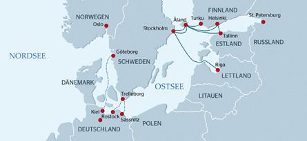 Durchgangsticket Kombiticket Finnland-Helsinki