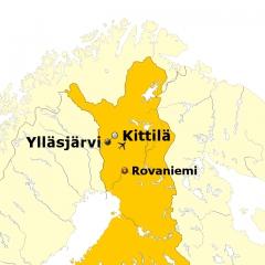 Polarlichtexpress-Kurzreise nach Ylläs Lappland