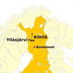 Nordlicht Jagd in Finnland