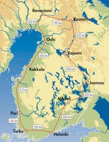 Autorundreise-Grosse_Finnlandrundereise