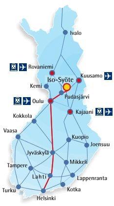 Iso-Soete Sommer Aktiv Urlaub Finnland
