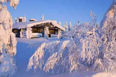 Winterwoche in Lappland