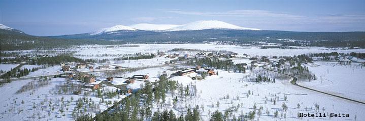 Polarlichtreise Äkäslompolo Hotel Seita
