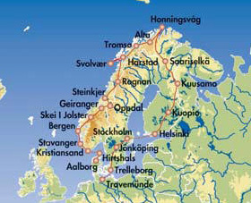Einreisebestimmungen Skandinavien