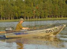 Fischen in Schweden Getmö Gard