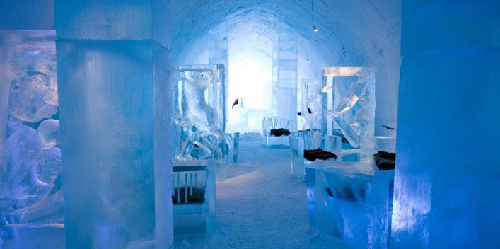eishotel in schweden bernachtung im icehotel in. Black Bedroom Furniture Sets. Home Design Ideas