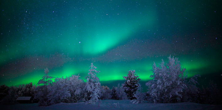 Winterurlaub Skandinavien